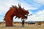 Парк доисторических скульптур в пустыне Анза Боррего, Калифорния, США