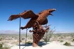 Парк доисторических скульптур, пустыня Анза Боррего