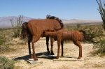 Парк доисторических скульптур в пустыне Анза Боррего
