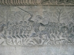 барельефы в Ангкор-Вате