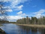 река Пур весной