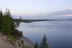 река Пур в Новом Уренгое