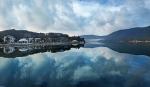 озеро Абрау, Краснодарский край, Россия