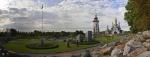вид на храмовый комплекс, Ландшафтный парк Сусловых, Буки