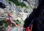 подвесной мост Ниус в Швейцарии