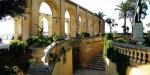 Верхние сады Баракка в Валлетте, Мальта