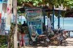 ресторан на пляже Тонг Танод, Самуи