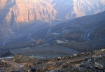 каньон Вади Би в Рас-эль-Хайме, ОАЭ