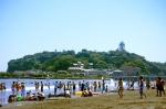 пляж на Эносиме
