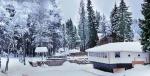 экодеревня Бабин Двор зимой