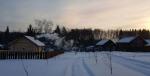 зима в экодеревне Бабин Двор