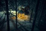 база Петяярви зимой