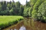 река Волчья, база отдыха Петяярви