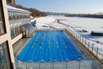 каркасный бассейн на зиму