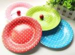 бумажные тарелки