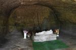 на первом уровне храма, Розгирче