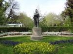 памятник Пушкину в Морском парке Бургаса