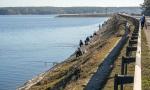 рыбаки на Печенежском водохранилище