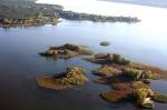 островки на Печенежском водохранилище