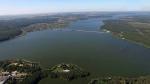 Печенежское водохранилище, аэросъемка