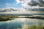 Печенежское водохранилище с высоты