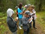детская экскурсия на биостанцию Чистый лес