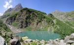 Турье озеро в Домбае