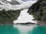 Турье озеро и Алибекский ледник