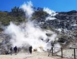 вулкан Сольфатара в Италии