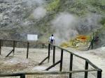 вулкан Сольфатара Поццуоли в Италии