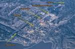 карта объектов Рыжий лес