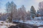 база отдыха Петяярви зимой