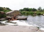 Калнышевский водопад, Днепровская область