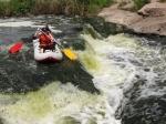 сплав на Токовских водопадах