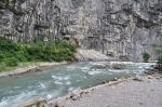 Юпшарский каньон в Абхазии