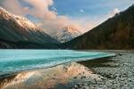 Кучерлинское озеро на закате