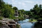 Букский каньон в Буках, Черкасская область, Украина