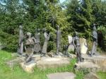 скульптуры в парке Подгорье