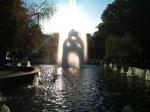 фонтан Зеркальная струя Харьков
