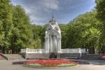 фонтан Зеркальная струя в Харькове