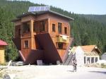 Перевернутый дом в Буковели
