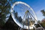 колесо обозрения в парке Гафури