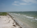пляж на острове Дзендзик