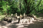 каменное святилище на острове Хортица
