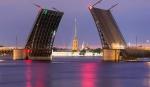 разводной мост на Неве