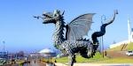 символ Казани – дракон (зилант)