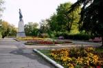памятник Т. Шевченко