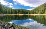 озера Синевир