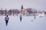 Трейлер-марафон по заснеженным льдам Валдайского озера