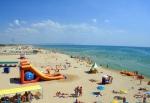 на пляжах Бердянска